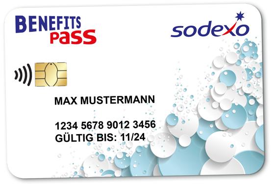 Sodexo Benefits Pass Karte
